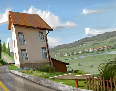 Switzerland Virtual Pleinair + process video
