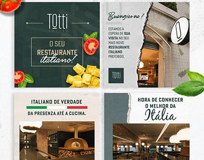 Social Media - Totti Cocina