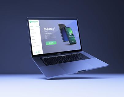 UI/UX Design: Concept Motorola