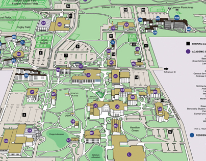 Digital Campus Map Restoration