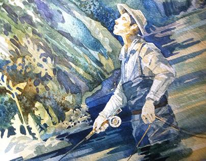 рыбак и орел