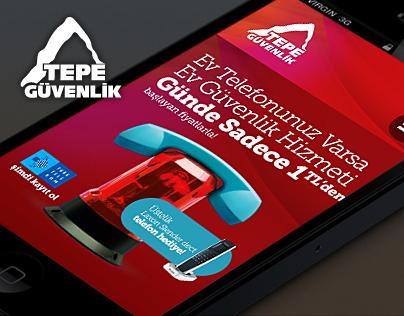 Tepe Guvenlik Responsive Web Design