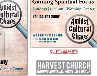 Harvest Church Gaining Spiritual Focus Life Group