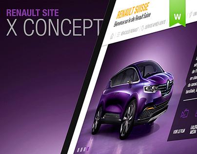 Renault site X-Concept