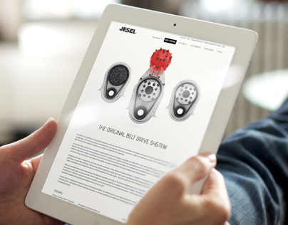 Jesel Website Redesign