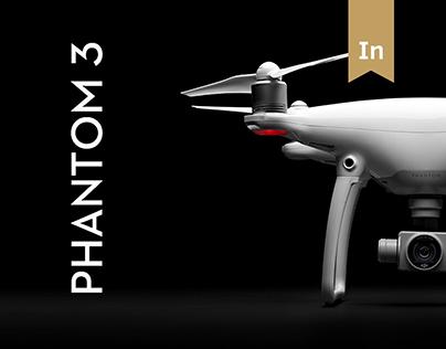 Dji Phantom landing page