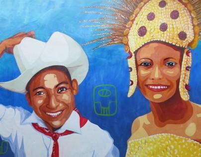 Community Murals in Honduras