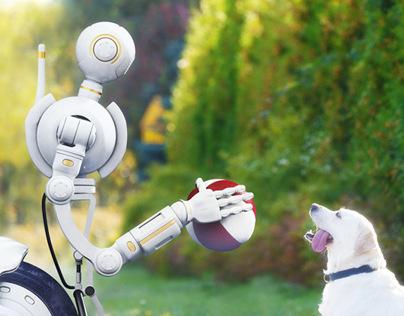 Robot pet sitter