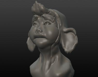 3D Sculpting with Sculptris