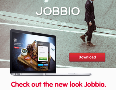 Jobbio - Web Design