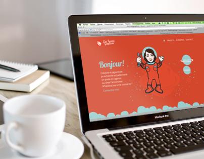 Site web personnel, Elsa Lecocq, graphiste !