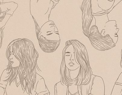 Illustration for @RCsalon Instagram