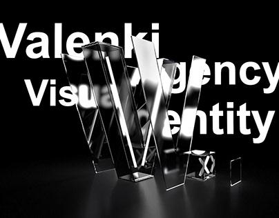 Valenki. Creative agency visual branding