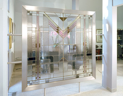 Stainless Steel Frame Partition