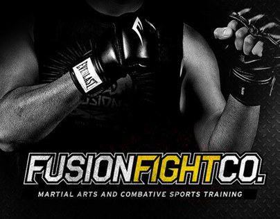 Fusion Fight Co. Logo and Website Design