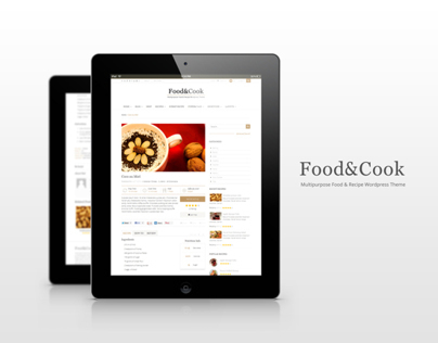 Food & Cook Multipurpose WP Theme