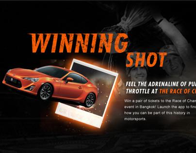 Race Of Champions Winning Shot