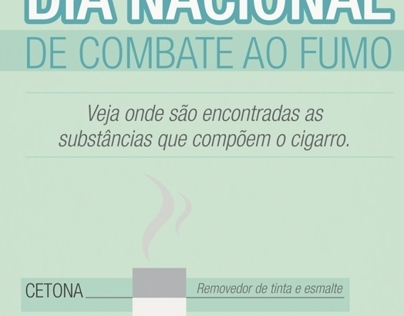 Dia do Combate ao Fumo