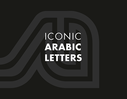 ICONIC ARABIC LETTERS