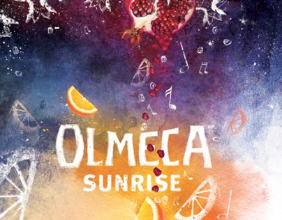 Key-visual for olmeca sunrise promo