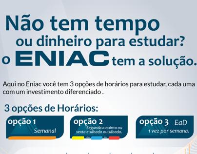 Opções de Horário - Faculdade Eniac