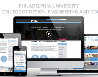 PhilaU: Kanbar College Website