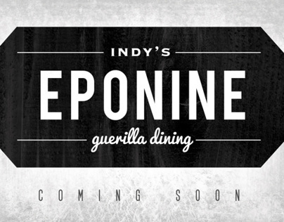 Eponine - Basic Brand Concept