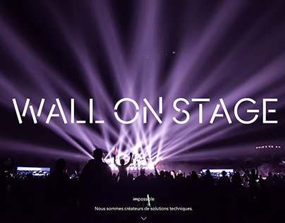 WALL ON STAGE