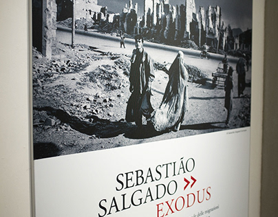 SEBASTIAO SALGATO - EXODUS OPENING - ALLESTIMENTO