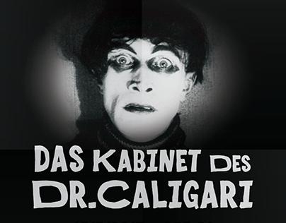 Das Kabinet des DR.CALIGARI - Poster