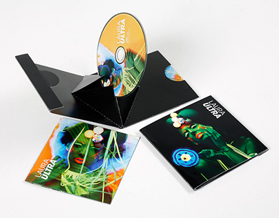 "Laura ""ULTRA"" CD packaging"
