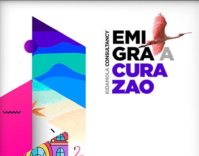 BRANDING EMIGRA A CURAZAO