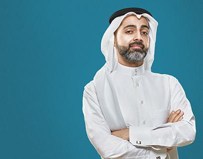 Al Salam Bank Mobile App campaign