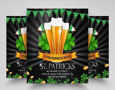 ST.Patricks Celebration Square Flyer