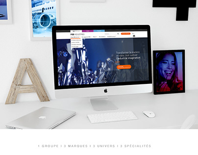 PSB Industries webdesign