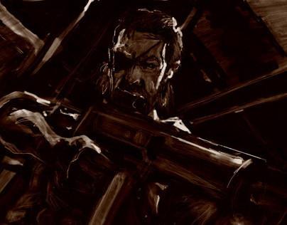 Solid Snake - Metal Gear Art Studio 1