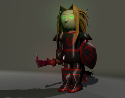 Low Poly Character - Thaelis