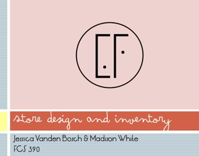 Store Design & Inventory | Fashion Buying | I |
