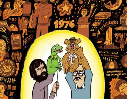 Muppet Show First Airs: September 1976