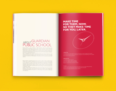 Pearson School Prospectus - mock-up