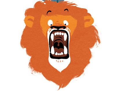Le très grand lion à la toute petite voix