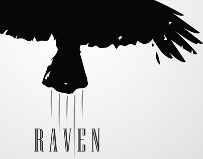 Raven big crow design by b.lovedesign