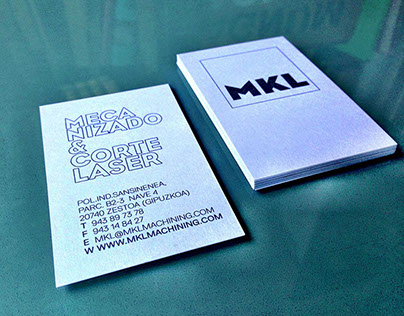 MKL Mecanizado | Branding Industrial