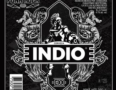 Etiqueta Indio 120 Años