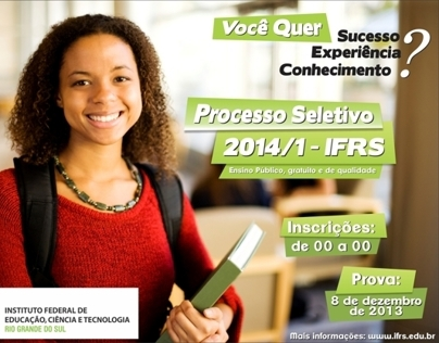 Processo Seletivo IFRS 2014/1