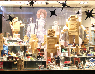 Schuh Window Display - Oxford Street, London