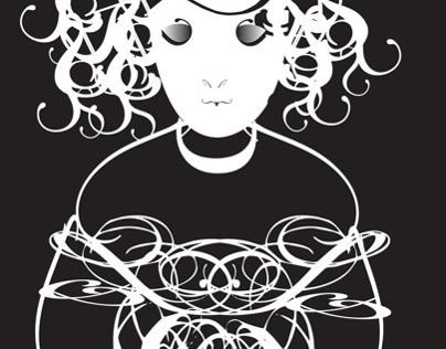 Bondage -- Expressive Type Poster