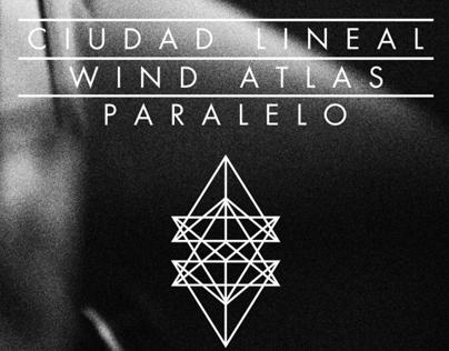 Poster // Ciudad Lineal - Wind Atlas - Paralelo