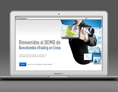 Demo Bancolombia eTrading