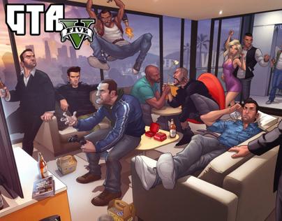 Grand Theft Auto V (XBOX Dashboard)